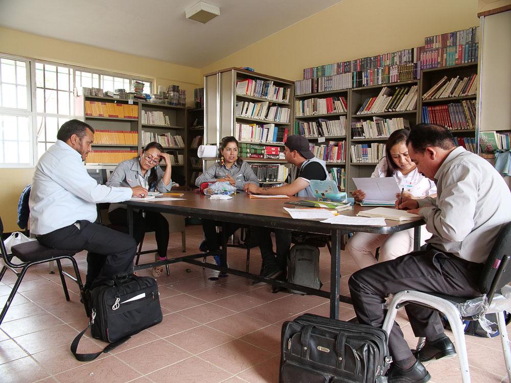 Intercambio de tutoría entre San Luis Potosí y Zacatecas