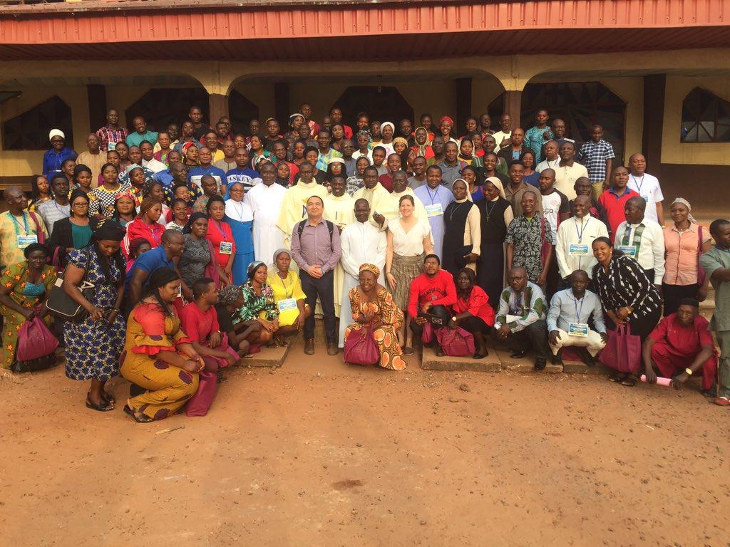 Las redes de tutoría visitan por primera vez el continente africano