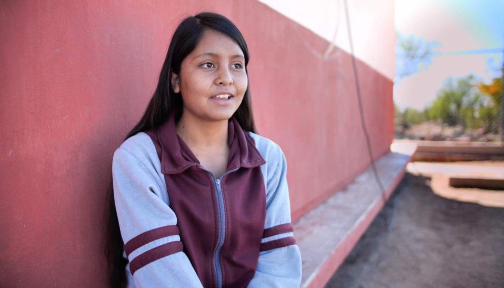 Alejandra de la Cruz; una estudiante que adquirió seguridad y confianza al aprender en relación tutora